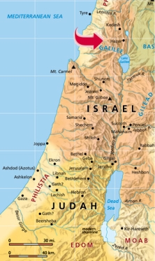 Hazor Map